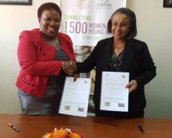CAWEE Signed MoU with AAW