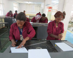 Leather Training At TVET